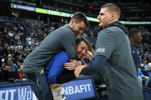 """Kiszla: """"Baywatch"""" boxers and tricks shots at the buzzer. Making the case for Nuggets center Nikola Jokic as MVP."""