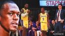 Rajon Rondo won't pass judgement on Lakers' unorthodox roster construction