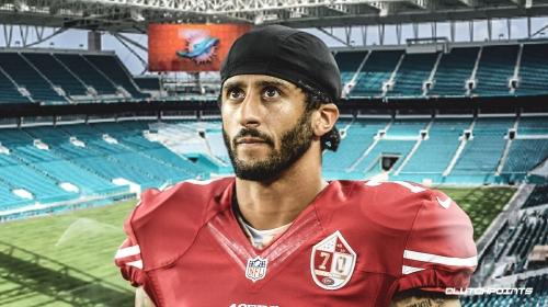 Rumor: Colin Kaepernick interested in Dolphins' quarterback vacancy