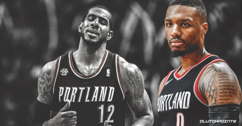 Damian Lillard passes LaMarcus Aldridge for 2nd place on Blazers all-time scoring list