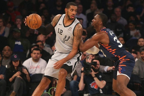 New York at San Antonio, Final Score: Spurs trounce Knicks 109-83