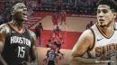 Video: Suns' Devin Booker nutmegs Rockets center Clint Capela