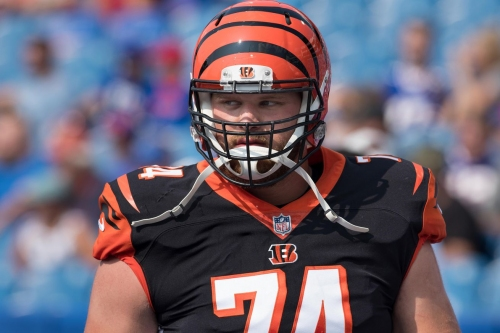 Jake Fisher tries out for Texans