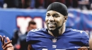 Golden Tate excited about joining up with Sterling Shepard as Giants' top receiving targets