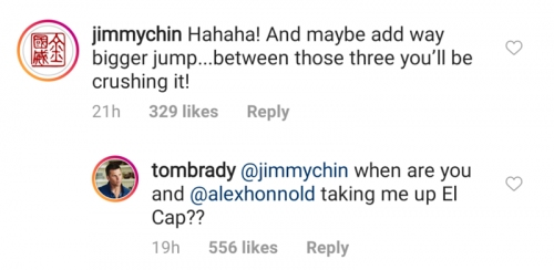 Adrenaline Junkie Tom Brady Looking To Climb El Cap With Allex Honnold