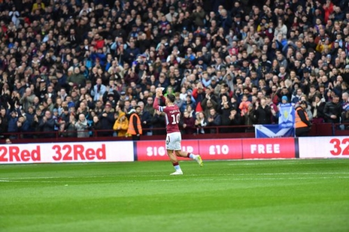 Here's how Villa Park welcomed Jack Grealish back after his Birmingham City pitch attack ordeal