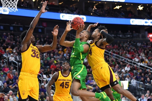 Oregon Heads to PAC-12 Tournament Championship After Overtime Victory, Ducks 79 - Sun Devils 75