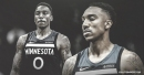 Jeff Teague leaves Timberwolves to get left foot evaluated