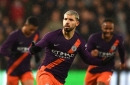 Sergio Aguero rescues Man City after Pep Guardiola team selection flops