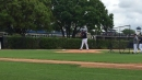 CC Sabathia pitches to Troy Tulowitzki in a simulated game at Yankees camp