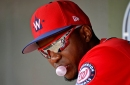 Washington Nationals' outfield plans after the Michael A. Taylor injury...