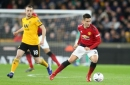 Manchester United midfielder Ander Herrera reacts to Wolves defeat