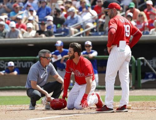Phillies fans hurl threats at pitcher who struck Bryce Harper