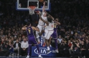 LeBron James & Alex Caruso Shine, But Lakers Crumble In Final Minutes Of Loss To Knicks
