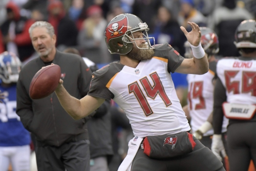 Still magic: Ryan Fitzpatrick finds a starting job with the Miami Dolphins