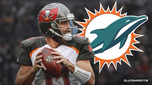 Ryan Fitzpatrick agrees to 2-year, $11 million deal with Miami Dolphins