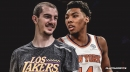 Alex Caruso doesn't think Allonzo Trier intentionally elbowed him in the face