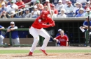 Bryce Harper returns to Phillies' lineup but still looking for first hit
