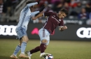 Rapids settle for tie after late goal by Sporting KC's Johnny Russell
