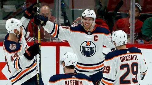 Greiss, Perlini, McDavid named NHL's three stars of the week