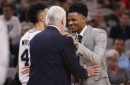 Dejounte Murray's eagerness aside, he's not coming back this season