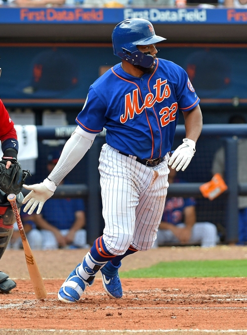 Dominic Smith 'at ease' and producing in NY Mets spring training