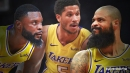 Lakers' Tyson Chandler, Josh Hart, Lance Stephenson questionable vs. Bucks