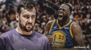 Warriors' Andrew Bogut hopes Draymond Green won't get mad at him if he's in the wrong spot