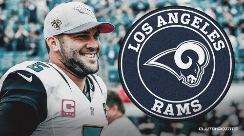 Blake Bortles chose Rams because of Sean McVay, team's culture, relationship with Jared Goff