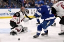 Coyotes fail to add to wild-card lead as Lightning pull away for win