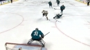 Golden Knights' Karlsson scores after getting help from Couture's poke