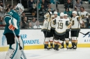 Year 2, Game 73: Golden Knights overcome rough start in 7-3 win against the Sharks