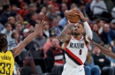 Lillard Shines As Blazers Outlast Pacers