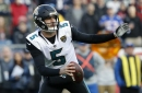 Blake Bortles signs with Rams on 1-year deal to back up Jared Goff