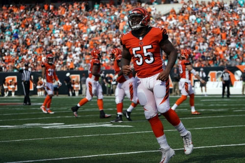 Day after release by Bengals Vontaze Burfict visiting Raiders