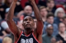 Harkless blocks a shot with his ...FOOT?!