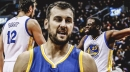Warriors' Andrew Bogut explains the rapport he has with Draymond Green