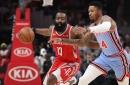 Rockets turn it up in 2nd half in 121-105 win over Hawks