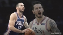 Sixers' J.J. Redick earns first double-double of both pro and college career