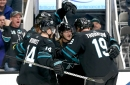 Sharks clinch playoff spot, with an assist from Colorado