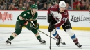 Avalanche stay in playoff hunt, Sharks clinch with win over Wild