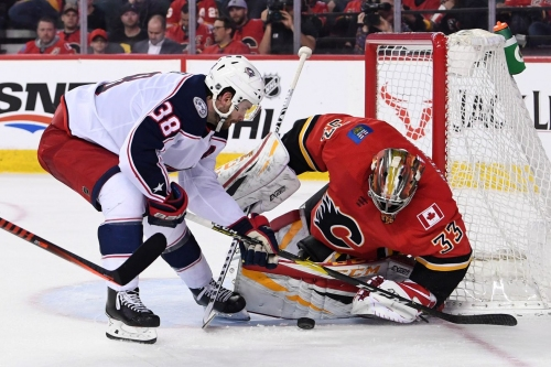 Game #73 Recap: Blue Jackets Flame Out in Calgary, Lose 4-2