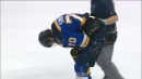 Oilers' Milan Lucic ejected for dangerous hit on Blues' Oscar Sundqvist