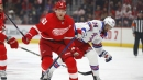 Red Wings' Jacob de la Rose in hospital with accelerated heart rate