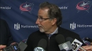 John Tortorella gets heated at reporters after loss to Flames