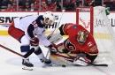 Calgary Flames (4) vs Columbus Blue Jackets (2): David Rittich & Flames Hang On For Win