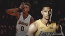 Lakers' Josh Hart, Nick Young have funny exchange over bonehead play