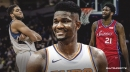 Suns' Deandre Ayton has better offensive numbers in the post than Joel Embiid, Karl-Anthony Towns