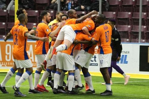 MetroStars score six unanswered goals to pick up first road win of the season