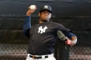 Starting his throwing program, Luis Severino begins his route back to Yankees' rotation